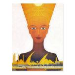 Vintage Egyptian Railways Postcard