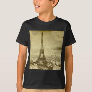 Vintage Eifel Tower Paris France  1889 T-Shirt