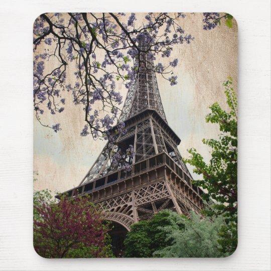 Vintage Eiffel Tower 2 Mouse Mat