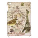 Vintage Eiffel Tower and bird mini ipad case iPad Mini Cases