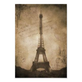 vintage eiffel tower card