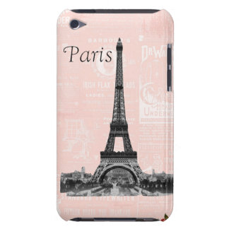 Vintage Eiffel Tower iPod Touch Case