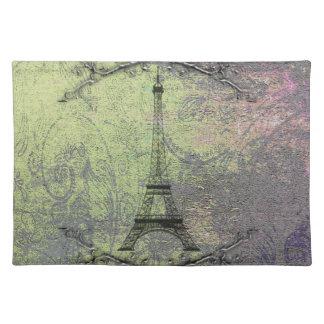 Vintage Eiffel Tower Place Mats