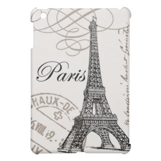Vintage Eiffel Tower ipad mini case