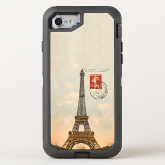 Vintage Eiffel Tower OtterBox Defender iPhone 6/6s