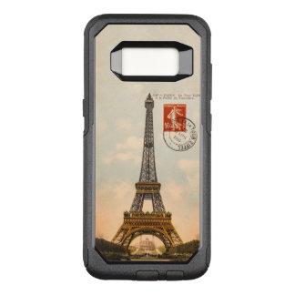 Vintage Eiffel Tower OtterBox Samsung S8 Case