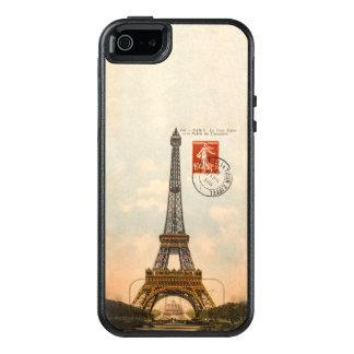 Vintage Eiffel Tower OtterBox Symmetry iPhone SE/5