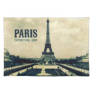 Vintage Eiffel Tower, Paris, 1889 Place Mats
