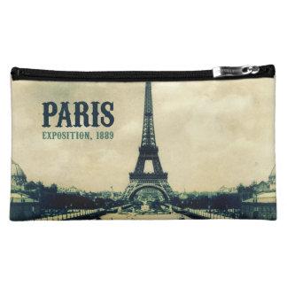 Vintage Eiffel Tower, Paris, 1889 Cosmetic Bag