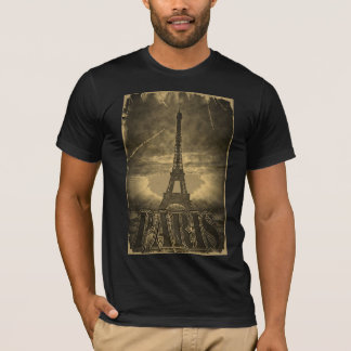 Vintage Eiffel Tower Paris #2 - T-shirt