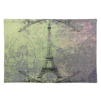 Vintage Eiffel Tower Placemats
