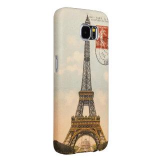 Vintage Eiffel Tower Samsung Galaxy S6 Samsung Galaxy S6 Cases