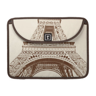 Vintage Eiffel Tower Sleeve For MacBook Pro