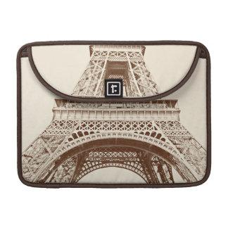 Vintage Eiffel Tower Sleeve For MacBook Pro