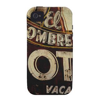 Vintage El Sombrero Motel Sign iPhone 4 Cover