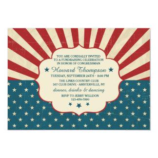 Vintage Election Invitation