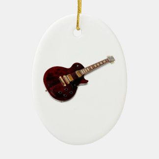 Vintage Electric Guitar Christmas Ornament