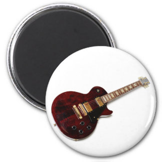 Vintage Electric Guitar Magnet