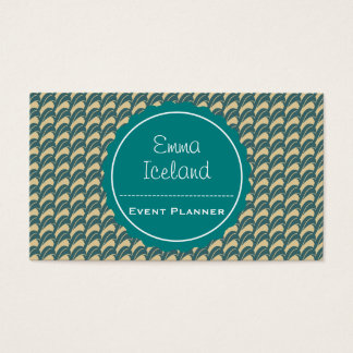 Vintage elegant business card