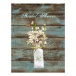 vintage elegant country wedding bridal shower invitations