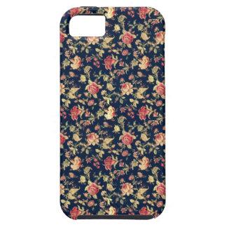 Vintage Elegant Floral Rose  iPhone 5 Case