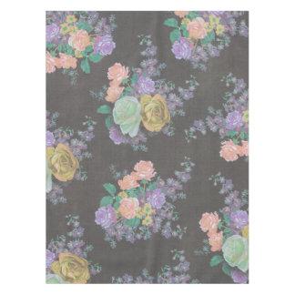 vintage elegant flowers floral Table Cloth
