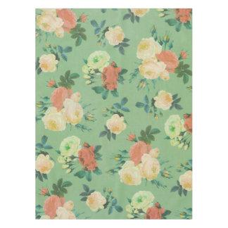 vintage elegant flowers Table Cloth