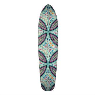 Vintage Elegant Moyen Age Medieval Graphic Design Skate Board