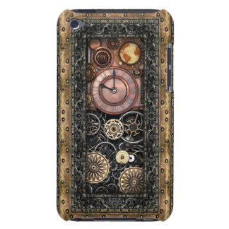Vintage Elegant Steampunk Barely There iPod Case
