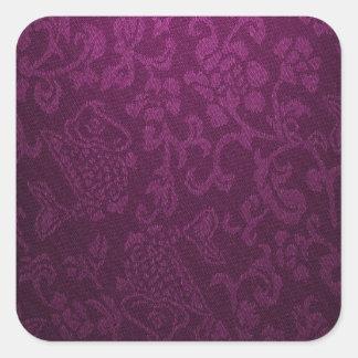vintage elegant  velvet lavender victorian pattern sticker