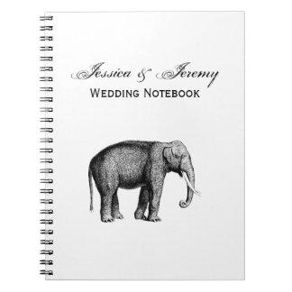Vintage Elephant Drawing Notebooks