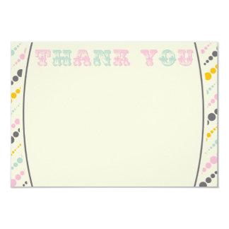Vintage Elephant Thank You Card Girl 9 Cm X 13 Cm Invitation Card