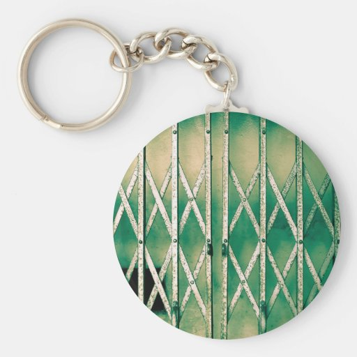 Vintage Elevator Gate Key Chain