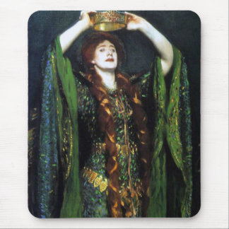 Vintage Ellen Terry as Lady Macbeth Mouse Mat