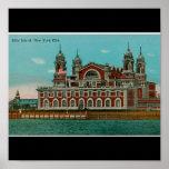 Vintage Ellis Island, New York CIty