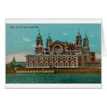 Vintage Ellis Island, New York City Card