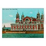 Vintage Ellis Island, New York City Greeting Cards