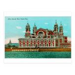 Vintage Ellis Island, New York City Post Card