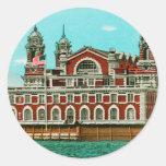 Vintage Ellis Island, New York City Sticker