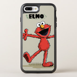 Vintage Elmo 2 OtterBox Symmetry iPhone 8 Plus/7 Plus Case