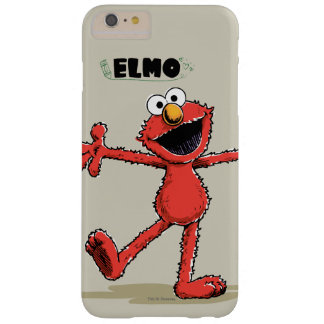 Vintage Elmo Barely There iPhone 6 Plus Case