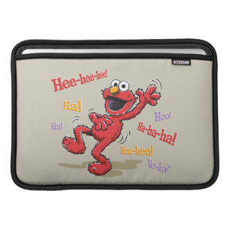 Vintage Elmo Hee-hee! Sleeve For MacBook Air
