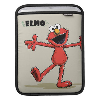 Vintage Elmo iPad Sleeve