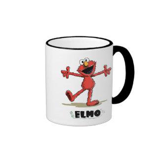 Vintage Elmo Ringer Mug