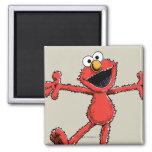 Vintage Elmo Square Magnet
