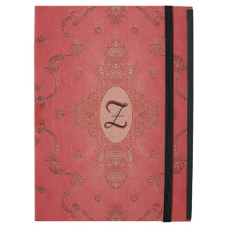 "Vintage Embroidered Silk Monogram iPad Pro 12.9"" Case"