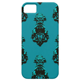 Vintage emerald background iPhone 5 cover