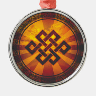 Vintage Endless Knot Christmas Ornament