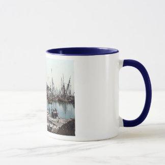 Vintage England  Brixham Harbour Mug