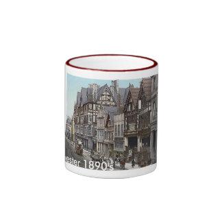 Vintage England  Chester 1890's Ringer Mug